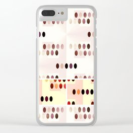 elipses Clear iPhone Case