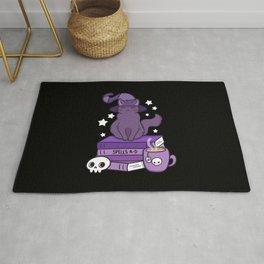 Feline Familiar 02 // Black Rug