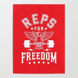 Reps For Freedom v2 Poster