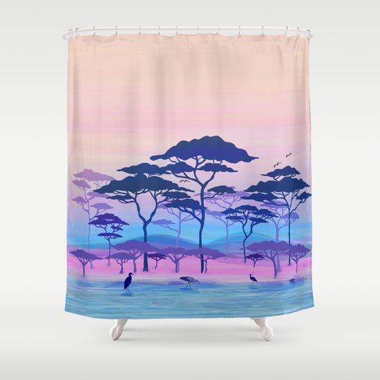 nature shower curtain by vita g society6