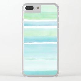 Beach Glass Clear iPhone Case