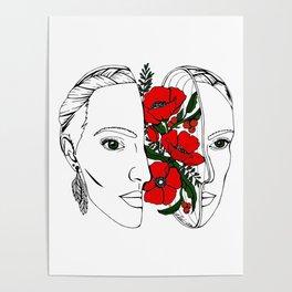 The Poppy Flowers Poster