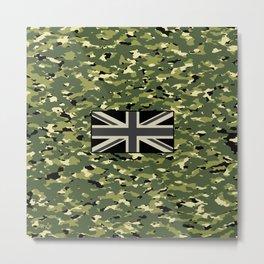 Camouflage: Jungle II Metal Print