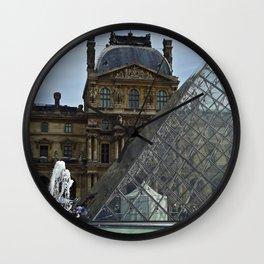 Louvre Wall Clock