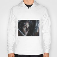 ripley Hoodies featuring Ripley from Aliens by Ashley Anderson