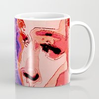 gemini Mugs featuring Gemini by Steve W Schwartz Art