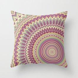 Mandala 121 Throw Pillow
