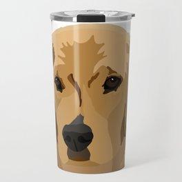 Beau the Golden Retriever Puppy Travel Mug