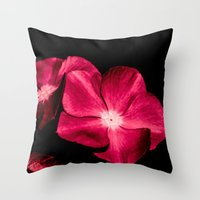 ruby Throw Pillows featuring Ruby by Loredana