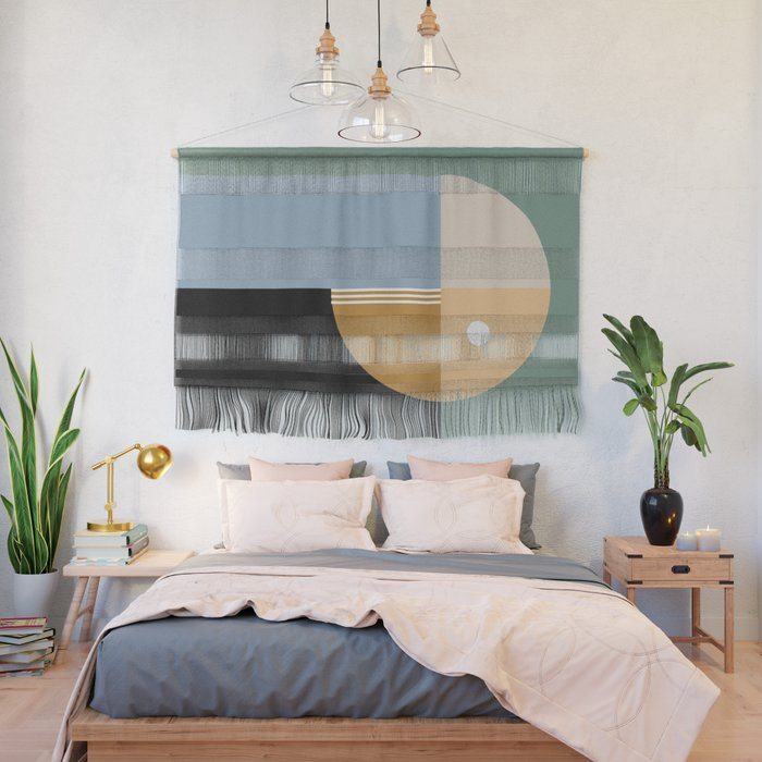 Contemporary 44 Wall Hanging