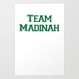 Team KSA 3 Art Print