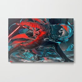 Kylo Ren Metal Print