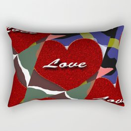 heart matter Rectangular Pillow