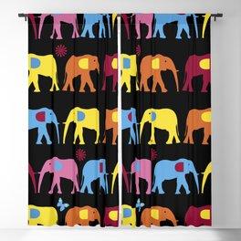 elephant wild Blackout Curtain