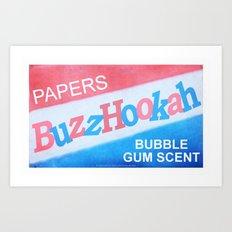 BuzzHookah - 011 Art Print