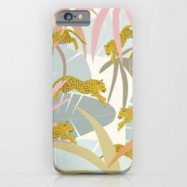Leopard Jungle Jump 2 iPhone Case