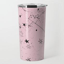 pink galaxi Travel Mug