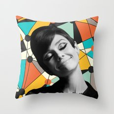 AUDREY HEPBURN 3 Throw Pillow