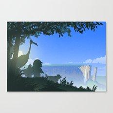 Paradise Falls Canvas Print