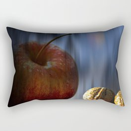 Concept Halloween : Apple and nuts Rectangular Pillow