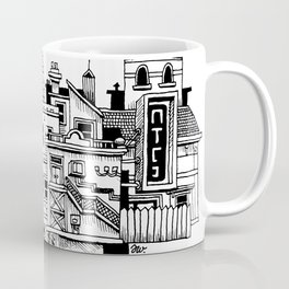 New Town New Coffee Mug