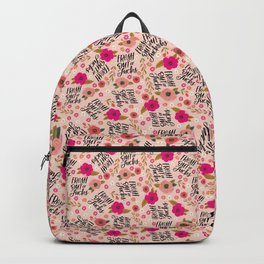 Pretty Sweary: Fresh out of Fucks- Pink Backpack