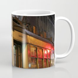 typical electric tram of Lisbon tram 28 Coffee Mug