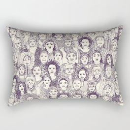 WOMEN OF THE WORLD PURPLE Rectangular Pillow