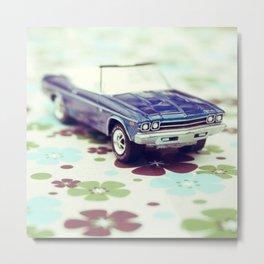 Chevelle Convertible Metal Print