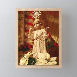 Baby Jesus Framed Mini Art Print