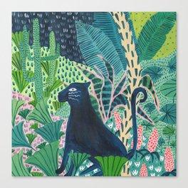 Jungle Jaguar Canvas Print
