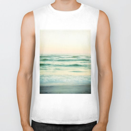 by the sea Biker Tank