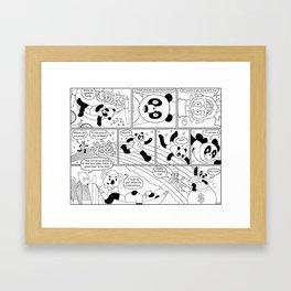 Spandex Panda - Comic 10 - St. Panda's Day Framed Art Print