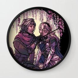 ninja boyfriend Wall Clock
