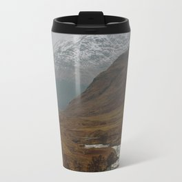 Glen Etive, Scotland Travel Mug