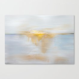 Gold Sunset Canvas Print