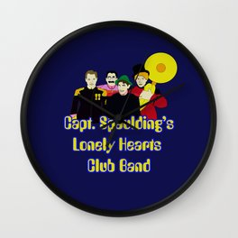Capt. Spaulding's Lonely Hearts Club Band Wall Clock