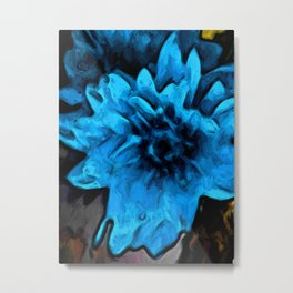 Still Life with a Blue Flower Metal Print