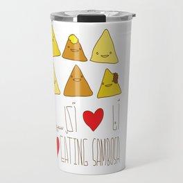 I Love Sambosa Travel Mug