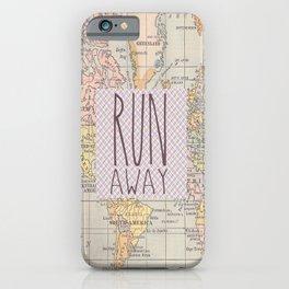 Run Away iPhone Case
