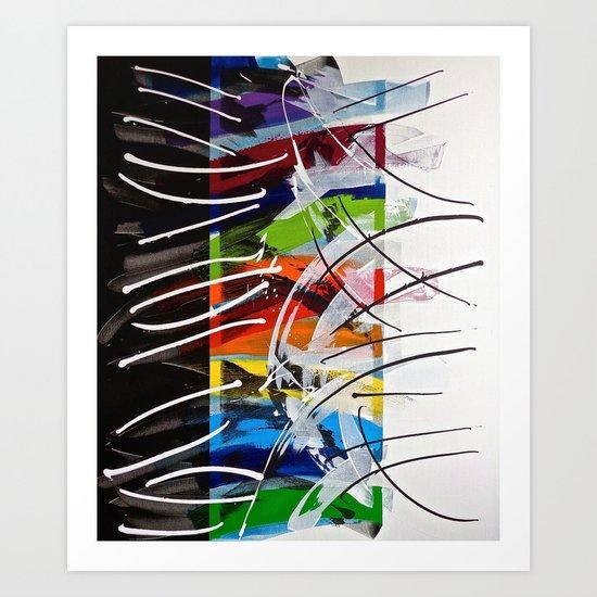 Blend Art Print