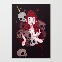 Sangue Canvas Print