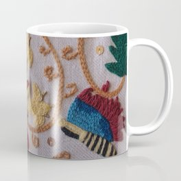 Elizabethan Embroidery Honeysuckle and Butterfly Coffee Mug