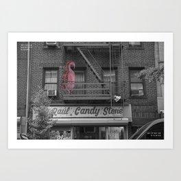 Unseen Monsters of New York - Ballyhoo Panche Art Print