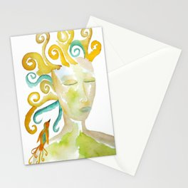 Mother Earth Goddess Gaia Stationery Cards