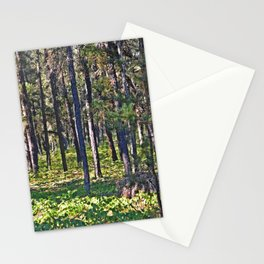 Torch River Forest Stationery Cards