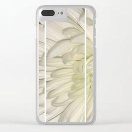 Flower III Clear iPhone Case