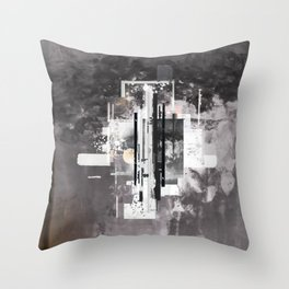 """Hennepin"" Graphic Art Print Throw Pillow"