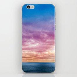 Rainbow Clouds iPhone Skin