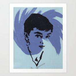 Audrey 6 Art Print